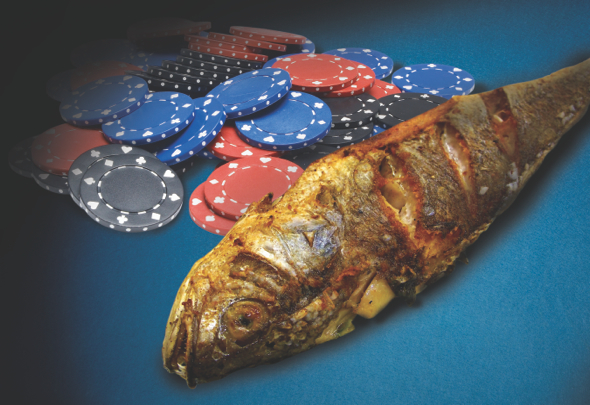 Hooking Fish in poker