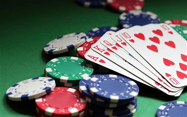 How to play texas holdem at casino